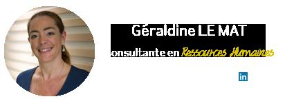 Géraldine Le Mat, consultante RH et outplacement chez Abaka