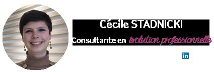 Cécile Stadnicki, Consultante en évolution professionnelle chez Abaka
