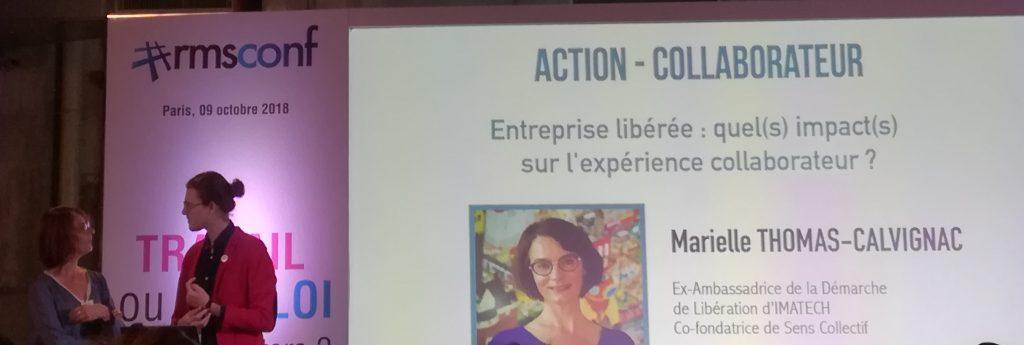 Marielle Thomas à la #rmsconf